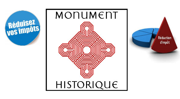 La défiscalisation des monuments historiques.